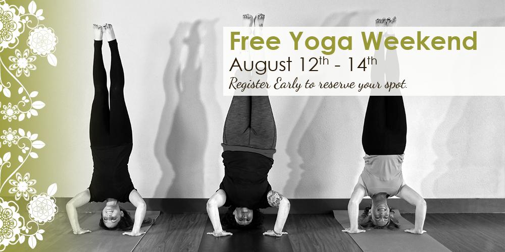 Free Yoga Weekend