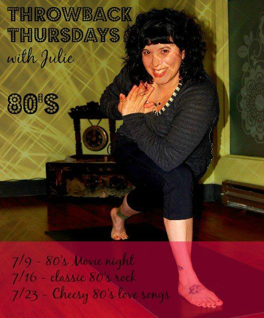 Throwback Thursdays with Julie - Leela Yoga Studio   Leela